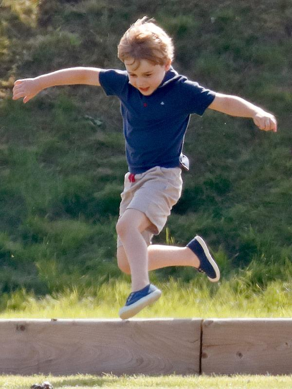 Jumping into his seventh year!