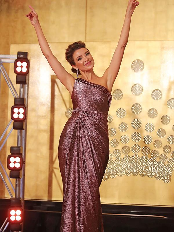 Dannii Minogue is the host of the show which sees workmates ditch their desks for the dance floor.