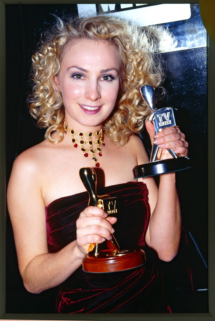 Lisa wins her first Gold Logie in 1997.