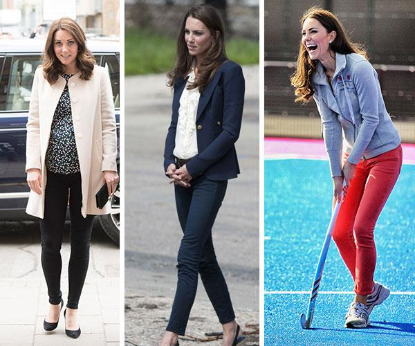 Duchess Catherine rocks a slim-fit trouser like no other!