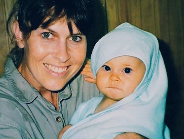 Baby Bindi! The conservationist posted a throwback picture on Instagram for her mum, Terri's birthday.