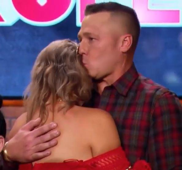 At the triple elimination, there were plenty of tears. But David was there as a shoulder for his wife to cry on.