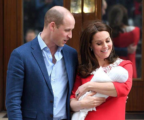 She's a royal wonder! Duchess Catherine reportedly did the school run the day after giving birth to Prince Louis.
