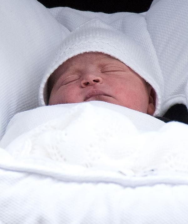 The new prince arrived on April 23rd, 2018.