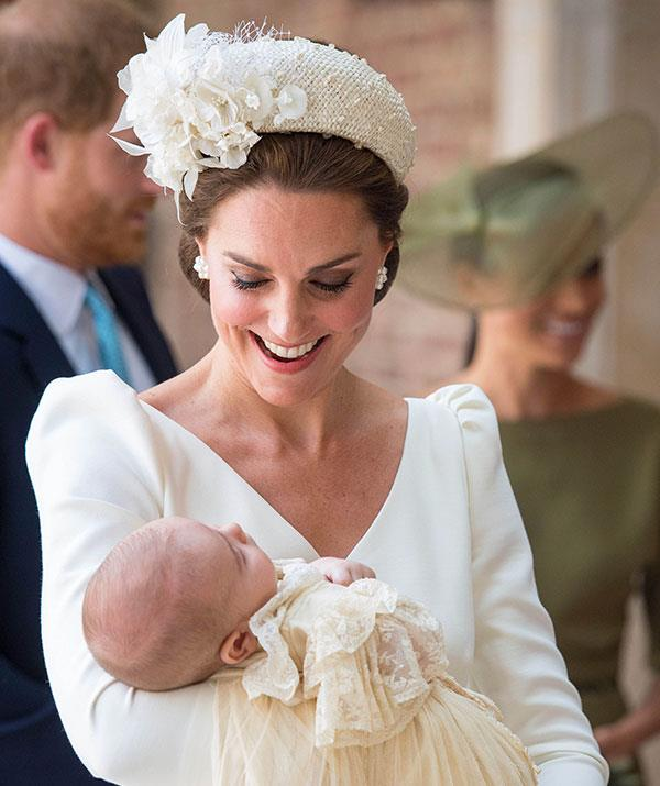 This marked Prince Louis' second-ever public appearance, following his April 23rd birth.