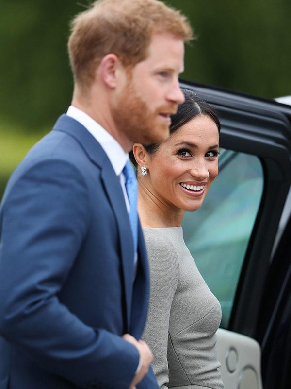 Meghan has happily stepped into royal life.