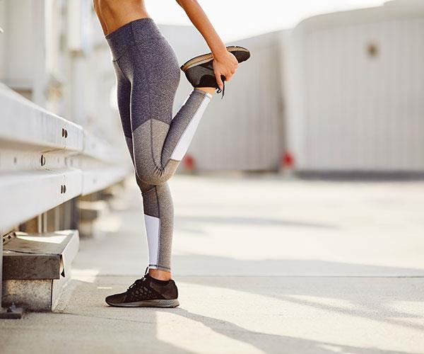 Getting some exercise can help relieve menstrual cramps.
