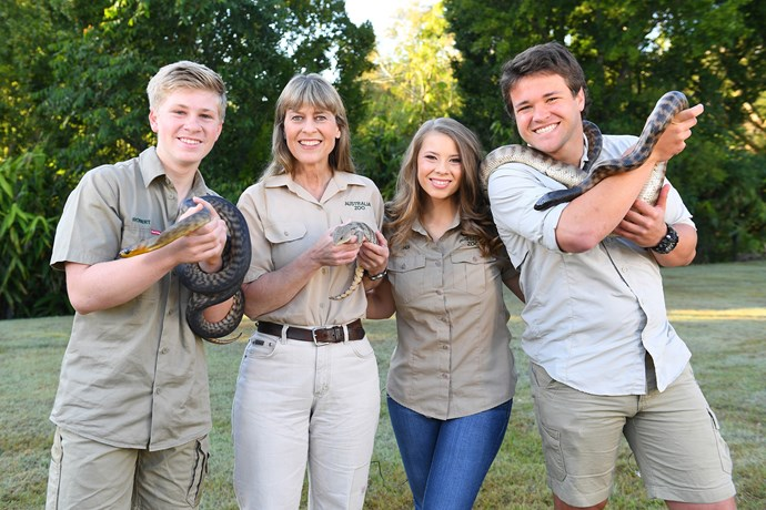 Bindi Irwin celebrates her 20th birthday surrounded by friends