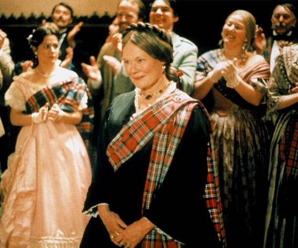 Dame Judi in the film *Mrs Brown*.