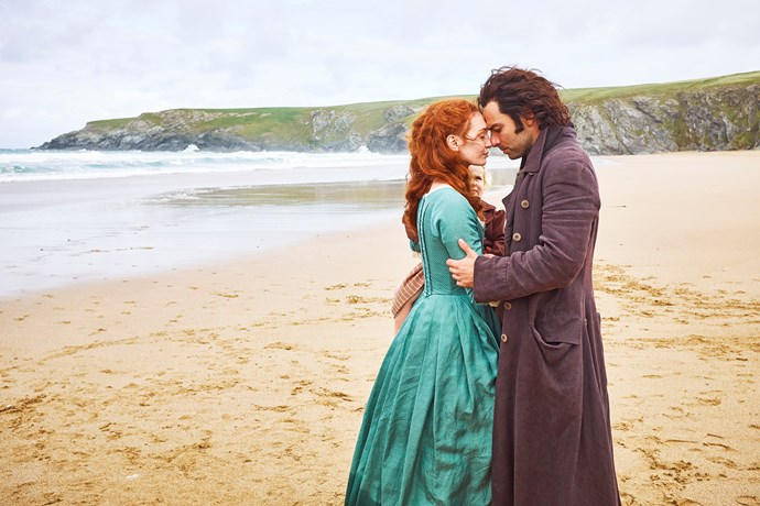 Demelza and Ross (Aidan Turner) have shared many romantic moments.