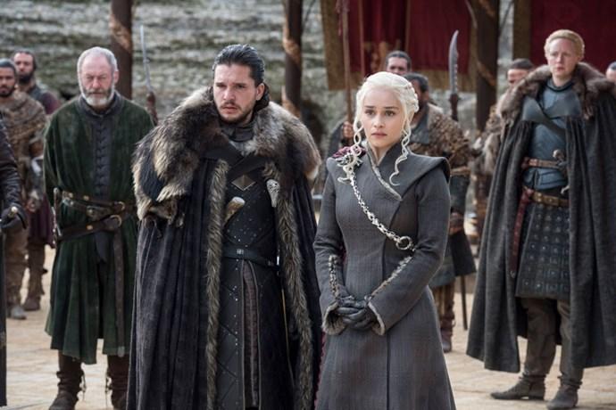 Jon Snow (Kit Harington) and Daenerys Targaryen (Emilia Clarke) have a bumpy road ahead in Season 8.