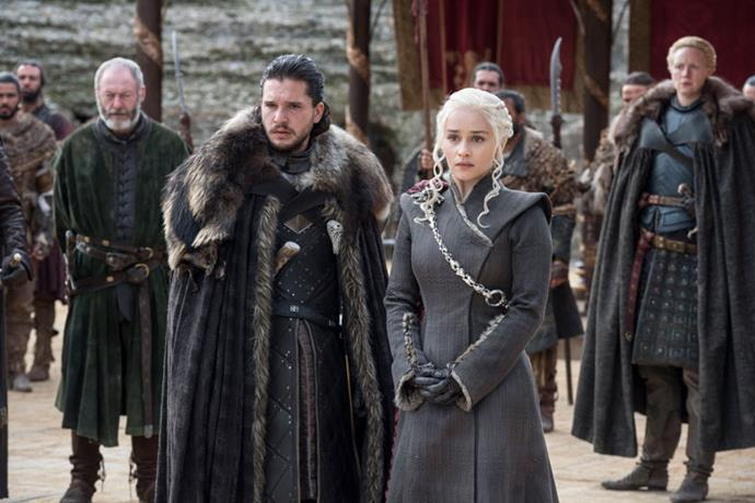 Jon Snow (Kit Harington) and Daenerys Targaryen (Emilia Clarke) have a bumpy road ahead in Season 8.