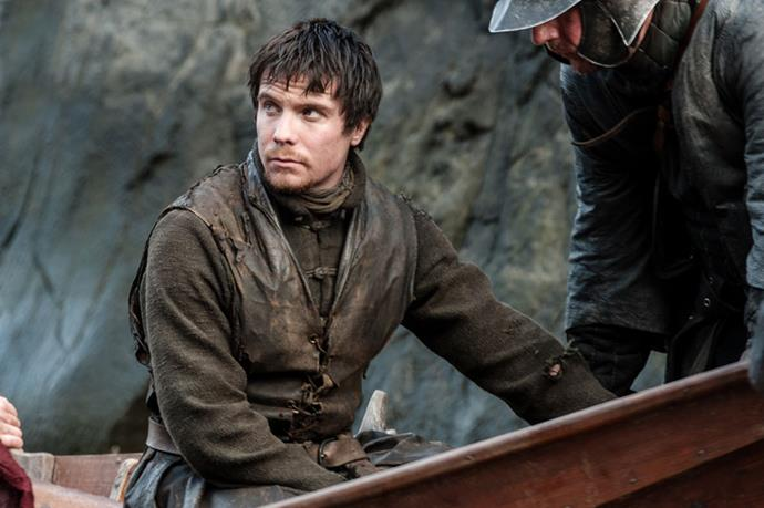 Gendry is a champion rower by this stage.