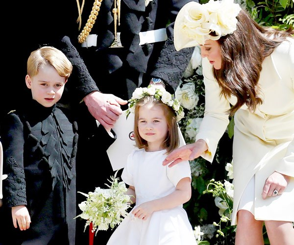 The Cambridges try to keep their kids out of the spotlight...