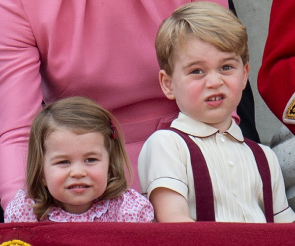Charlotte and George still play but the future King of England enjoys going off to do his own thing as well.