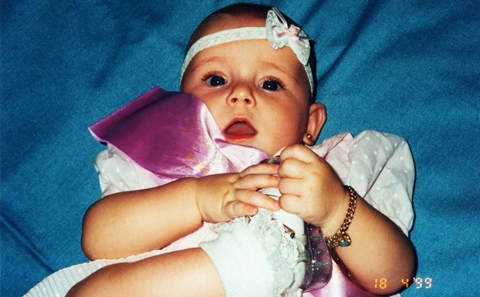 Breannah at six months old.