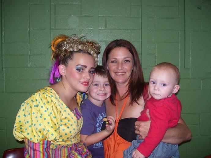 Breannah, Reece, me and Riley.