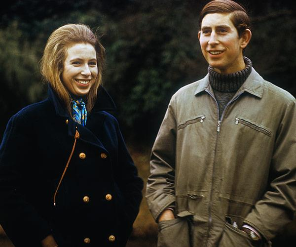 The royal siblings, snapped together in 1970.