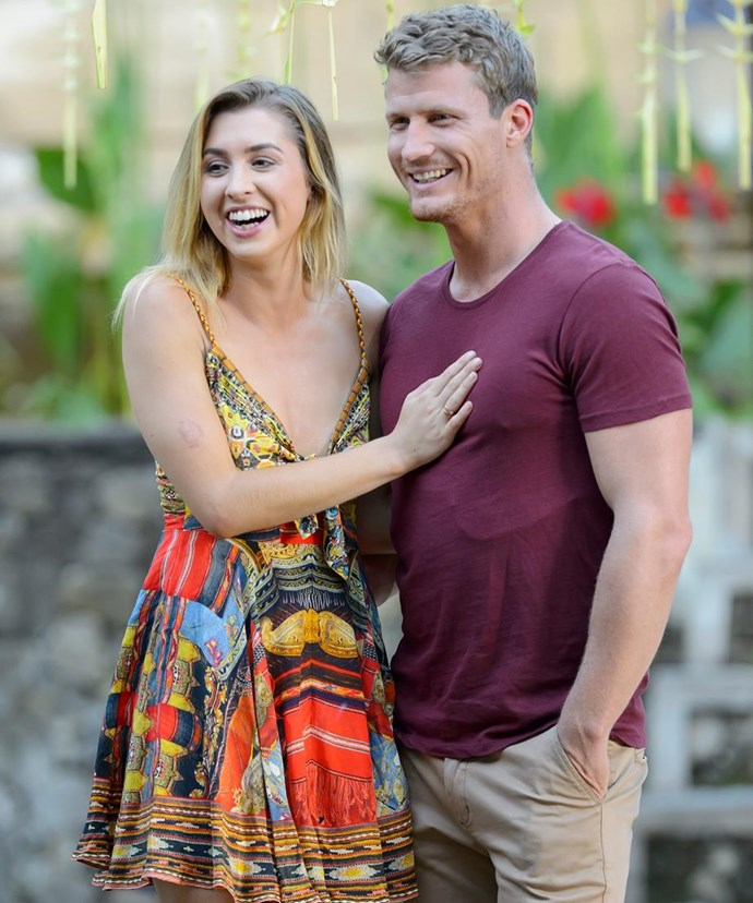 Alex and Richie split not long after the *Bachelor* finale aired.