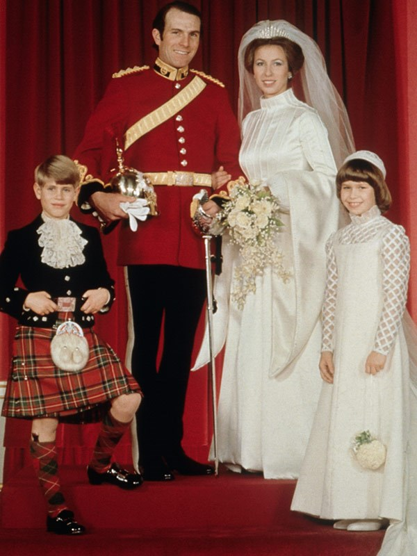 Despite Anne's feelings for Andrew, in the end she married cavalryman Captain Mark Phillips.
