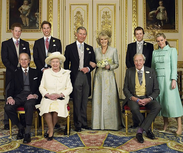 A decade later, she married Prince Charles.