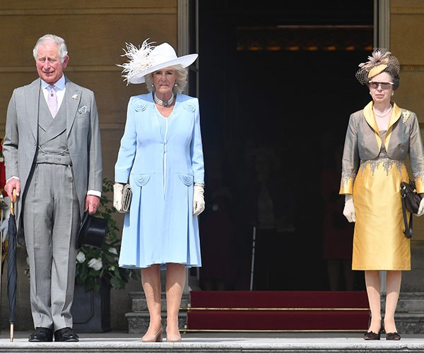 Duchess Camilla and Princess Anne