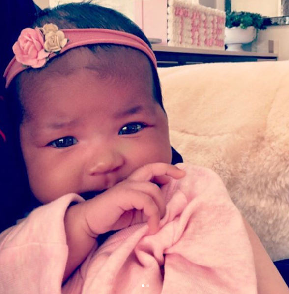 """Khloé Kardashian and Tristan Thompson [welcomed a baby girl, True](https://www.nowtolove.com.au/parenting/pregnancy-birth/khloe-kardashian-and-tristan-thompson-welcome-daughter-46469