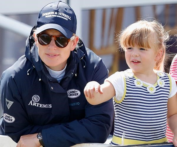 """Mike Tindall described daughter Mia as the couple's """"saving grace."""""""
