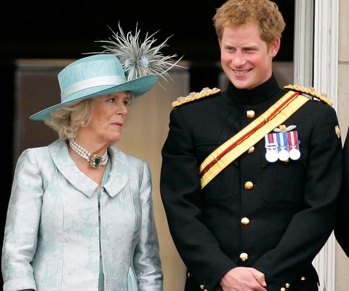 Prince Harry has defended his stepmother Camilla in comments seen in a new biography.