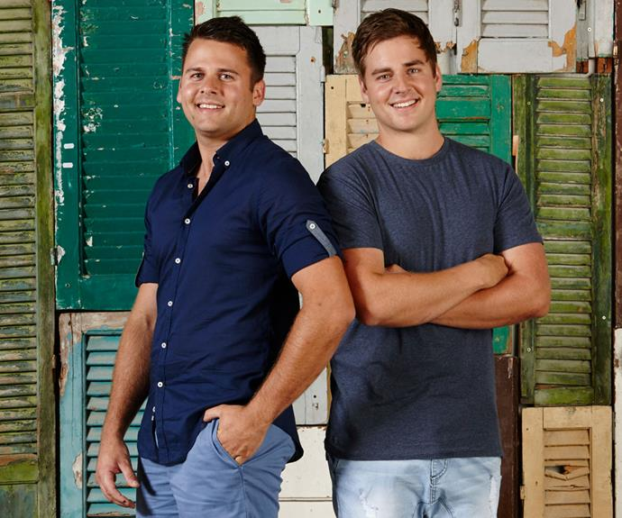 Laurence says Josh and Brandon could be brilliant landscapers.