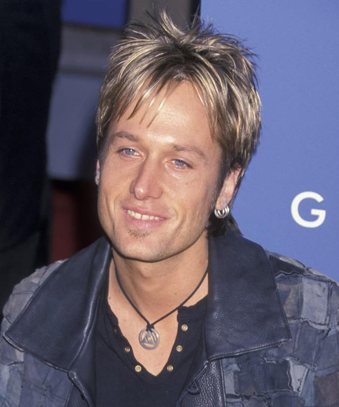 The star, pictured here in 2001, has been sober for ten years.
