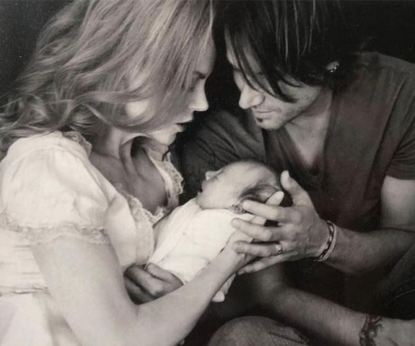 """Ten years ago today our little girl came into the world. You are our joy Sunday Rose. We love you, Happy Birthday."""