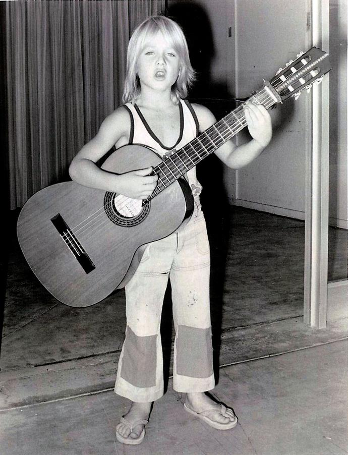 Young Keith was a natural on any instrument he picked up.