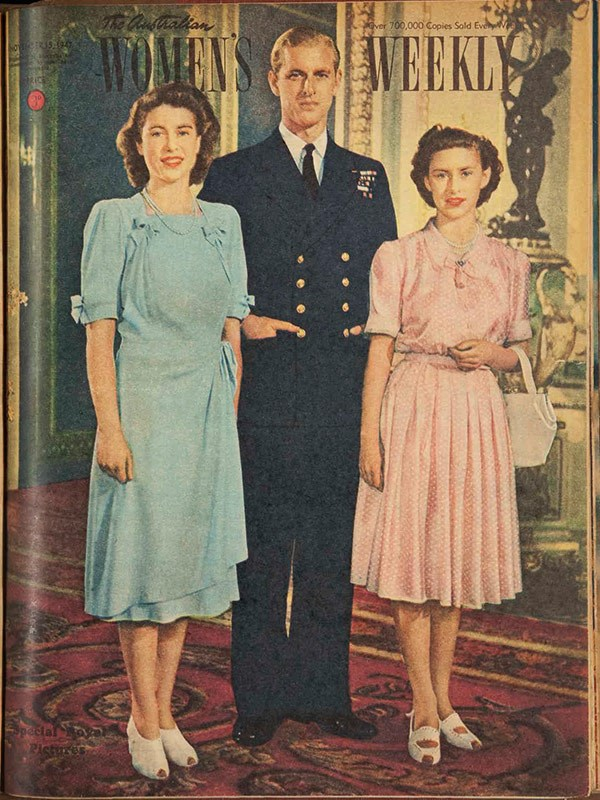 November 1947: Before the royal wedding.