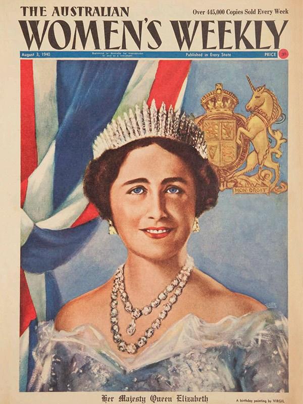 August 1940: Elizabeth's mother celebrates her 40th birthday.