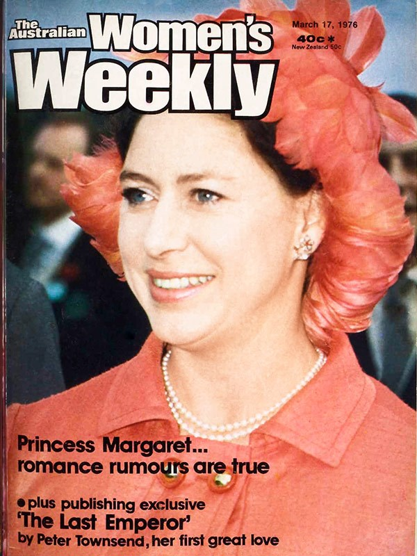 March 1976: Margaret's romance with a man 17 years her junior causes a royal furore. The Queen was not amused, forbidding anyone to entertain them together.