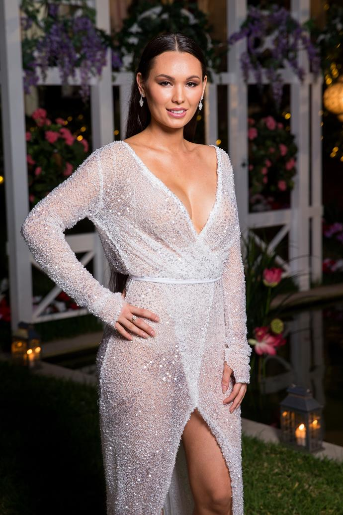 "**Vanessa, 27, VIC** Legal secretary Vanessa is brutally honest and fiercely independent. She's hoping to find a man who is sincere, rather than ""perfect."" Fans have already pegged Vanessa as the 2018 villain, find out why [here](https://www.nowtolove.com.au/reality-tv/the-bachelor-australia/bachelor-australia-vanessa-sunshine-50369