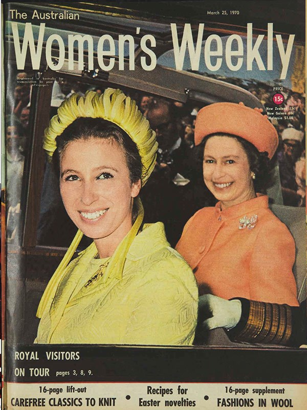 March 1970: The Queen and Princess Anne arrive in New Zealand.