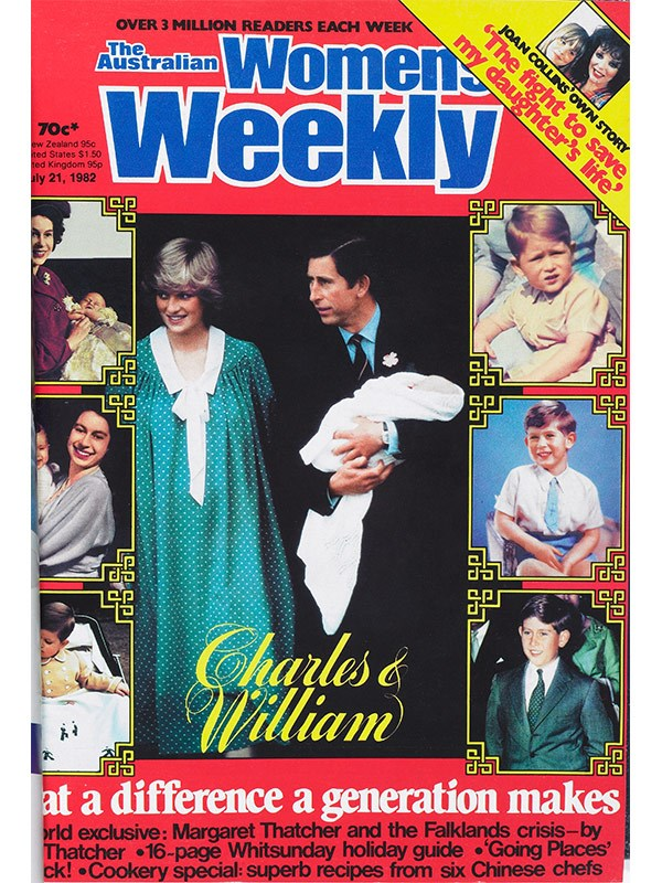 "July 1982: *The Weekly* reported that there was ""a carnival atmosphere outside St Mary's Hospital"" for the birth of William."