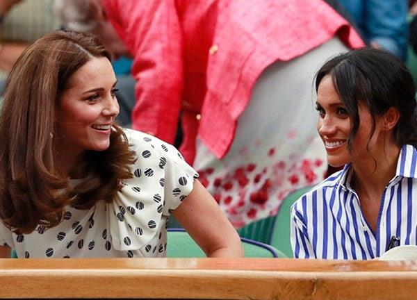 Fans were so excited to the the pair at Wimbledon!