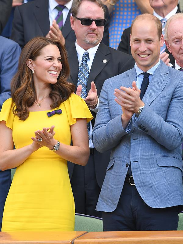 """The Duchess looked phenomenal just [three months after Louis' birth](https://www.nowtolove.com.au/royals/british-royal-family/prince-louis-baby-photos-50112