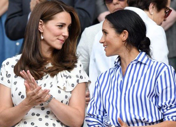 Meghan has had the support of royals including sister-in-law, Duchess Catherine.