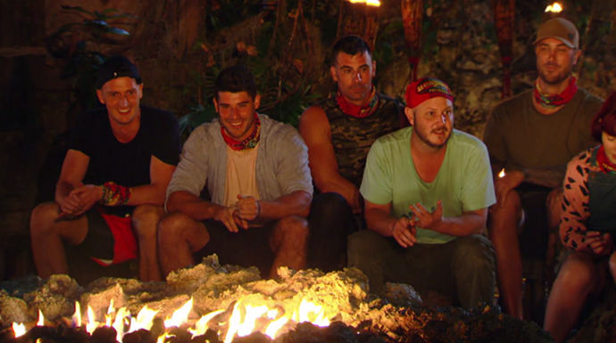 Matt lost his cool during his first (and last ) *Australian Survivor* tribal council.