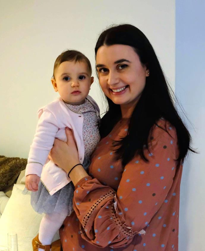Alice Mouatt and daughter Lilly. Image: Supplied