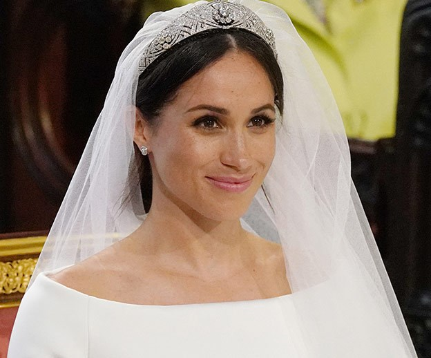 And the newly minted Duchess of Sussex was a vision.