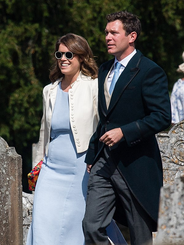 Princess Eugenie and fiance Jack Brooksbank were also on the guest list.