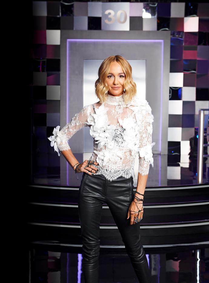 Sharni has returned to Australian TV for *Dance Boss.*