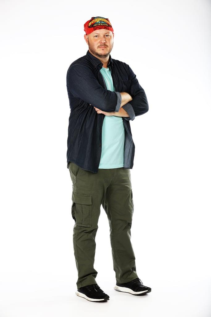 **MATT, 35, CONTENDER**  Matt is a police officer from Queensland, who became the first person voted off *Australian Survivor* 2018.