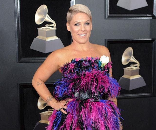 "Hitting back at her critics: ""I have never phoned in a single tour, I have an impeccable record for not cancelling,"" Pink said last week."