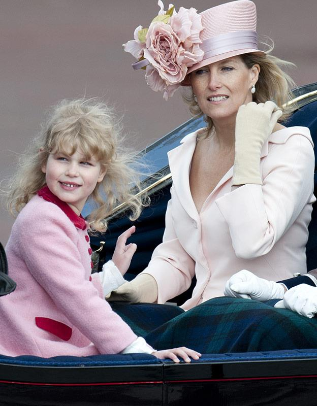 It's clear the Queen granddaughter is growing up in front of our eyes.